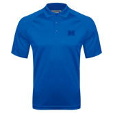 Royal Textured Saddle Shoulder Polo-M Tone
