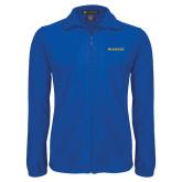 Fleece Full Zip Royal Jacket-McNeese