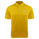 Gold Dry Mesh Polo-M