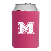 Collapsible Hot Pink Can Holder-M