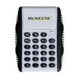 White Flip Cover Calculator-McNeese