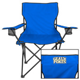Deluxe Royal Captains Chair-Geaux Pokes Stacked