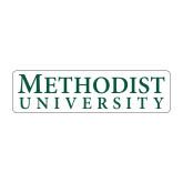 Medium Decal-Horizontal Methodist University, 8 inches wide