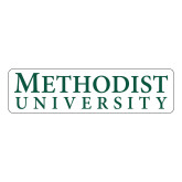 Large Decal-Horizontal Methodist University, 12 inches wide