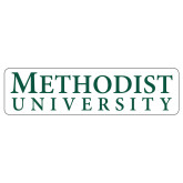 Extra Large Decal-Horizontal Methodist University, 18 inches wide