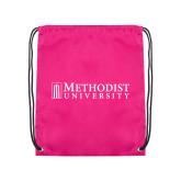 Pink Drawstring Backpack-Official Artwork