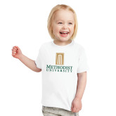 Toddler White T Shirt-Primary Instituational Logo