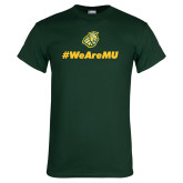 Dark Green T Shirt-We are MU