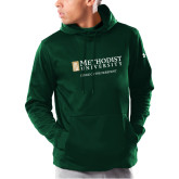 Under Armour Dark Green Armour Fleece Hoodie-Office of the President