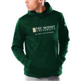 Under Armour Dark Green Armour Fleece Hoodie-Reeves School of Business