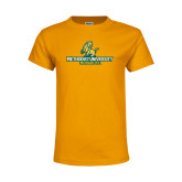 Youth Gold T Shirt-Methodist University Monarchs