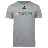Adidas Sport Grey Logo T Shirt-Official Artwork