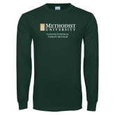 Dark Green Long Sleeve T Shirt-Doctor of Physical Therapy Program