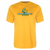 Performance Gold Tee-Methodist University Monarchs