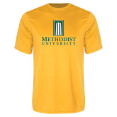 Performance Gold Tee-Primary Instituational Logo