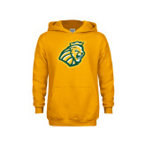 Youth Gold Fleece Hoodie-Lion Head