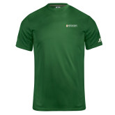 Russell Core Performance Dark Green Tee-Official Artwork