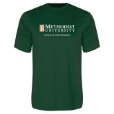 Performance Dark Green Tee-Office of the President