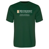 Performance Dark Green Tee-School of Science & Human Development