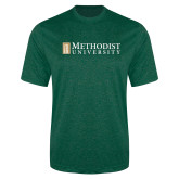 Performance Dark Green Heather Contender Tee-Official Artwork