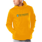 Under Armour Gold Armour Fleece Hoodie-Official Artwork