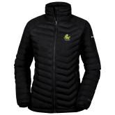 Columbia Powder Lite Ladies Black Jacket-Primary Mark