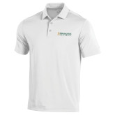 Under Armour White Performance Polo-Official Artwork