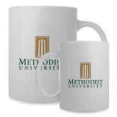 Full Color White Mug 15oz-Primary Instituational Logo