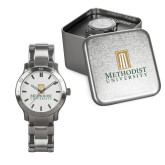 Mens Stainless Steel Fashion Watch-Primary Instituational Logo