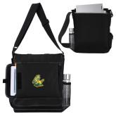 Impact Vertical Black Computer Messenger Bag-Primary Mark