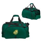 Challenger Team Dark Green Sport Bag-Lion Head
