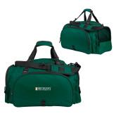 Challenger Team Dark Green Sport Bag-Official Artwork