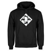 Black Fleece Hoodie-Western IHSA Team Mark
