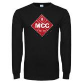 Black Long Sleeve T Shirt-50 Year Mark
