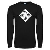 Black Long Sleeve T Shirt-Western IHSA Team Mark