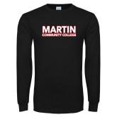 Black Long Sleeve T Shirt-Martin Community College