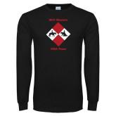 Black Long Sleeve T Shirt-Western IHSA Team Design