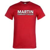 Red T Shirt-Martin Community College