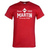 Red T Shirt-Established Date