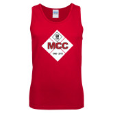 Red Tank Top-50 Year Mark