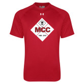 Under Armour Red Tech Tee-50 Year Mark