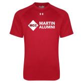 Under Armour Red Tech Tee-Alumni