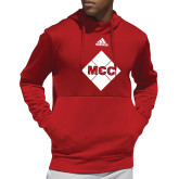Adidas Red Team Issue Hoodie-Primary Mark