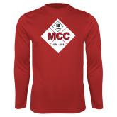 Performance Red Longsleeve Shirt-50 Year Mark