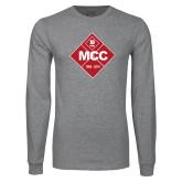 Grey Long Sleeve T Shirt-50 Year Mark
