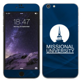 iPhone 6 Plus Skin-Missional University Stacked