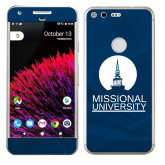 Google Pixel Skin-Missional University Stacked