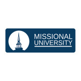 Medium Decal-Missional University Stacked