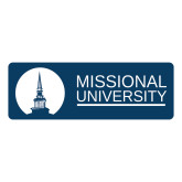 Large Decal-Missional University Stacked