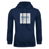 Navy Fleece Hoodie-Missional University Box Sub Text